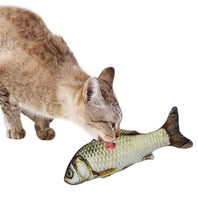 Cat Fish Interactive Toy - JumieGee