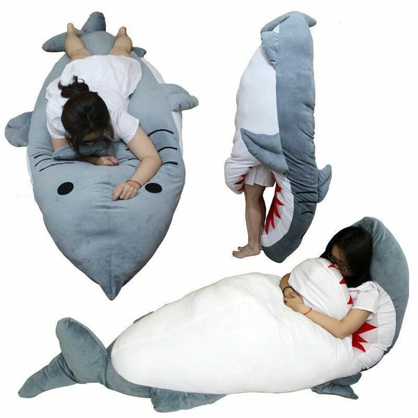 Stuffed Shark Sleeping Bag - JumieGee