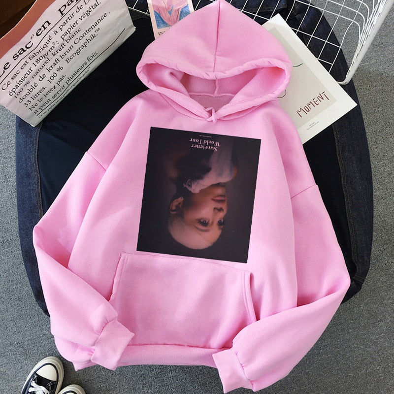 Ariana Grande Thank You Next Hoodie Women - JumieGee