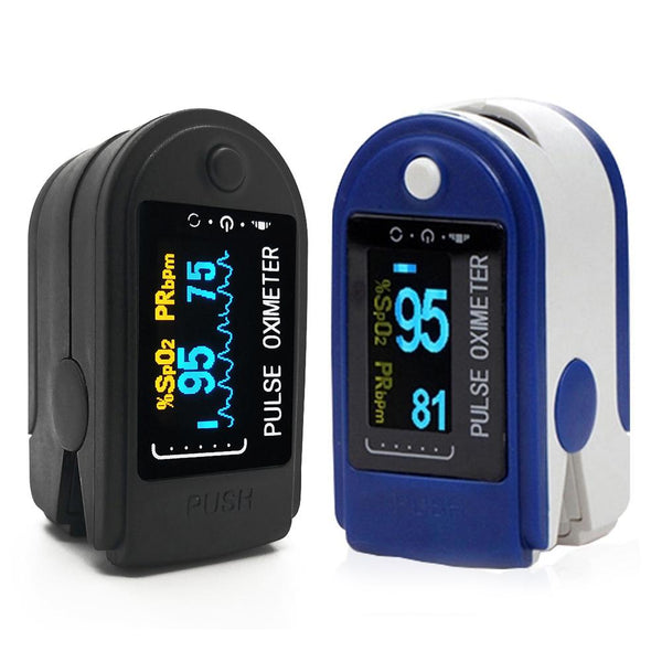 Finger Oximeter Portable  with LED Display - JumieGee