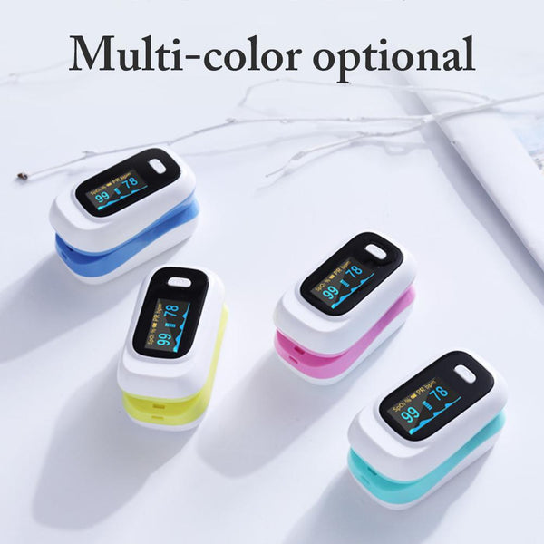 Fingertip Pulse Oximeter (Multicolor) - JumieGee