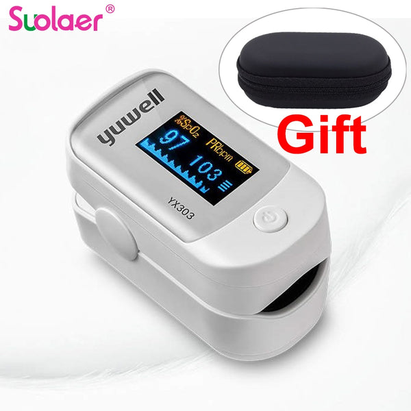 Portable Finger Pulse Oximeteror - JumieGee