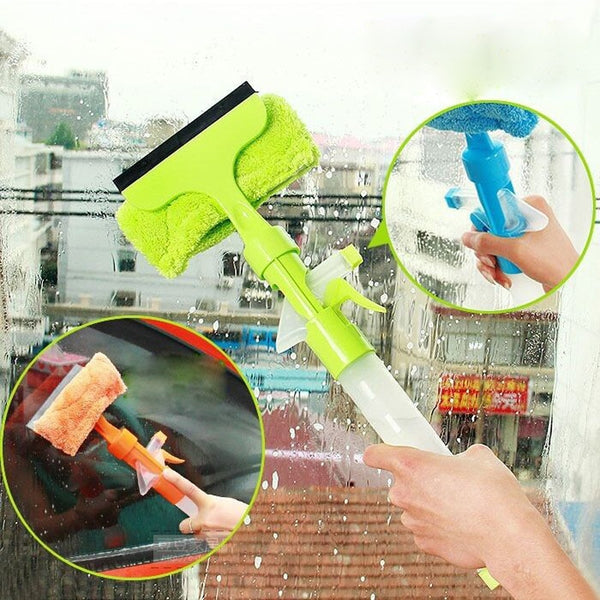 Spray Type Cleaning Brush Wiper Car Window Cleaner Wizard Washing Tool Cleaning Airbrush - JumieGee