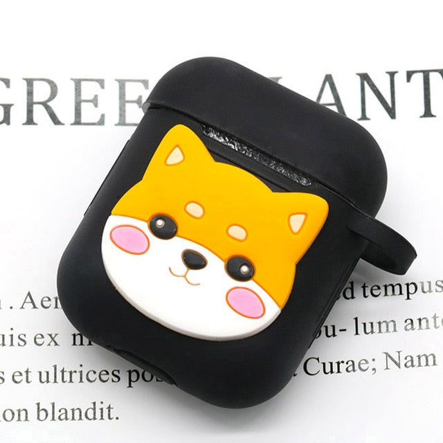 Cartoon Wireless Bluetooth Earphone Case For Apple AirPods - JumieGee