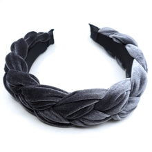 Load image into Gallery viewer, VELVET PLAIT HEADBAND
