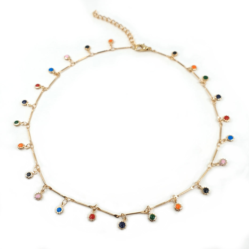 POLLY SPOTTY CHOKER