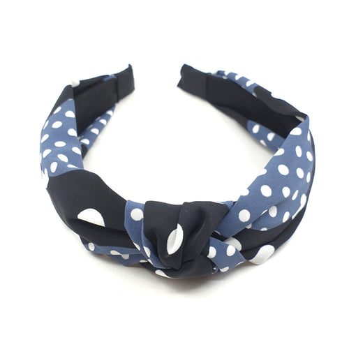 SPOTTY KNOT HEADBAND