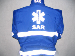 Reflective Search and Rescue with Star of Life All Weather Jacket