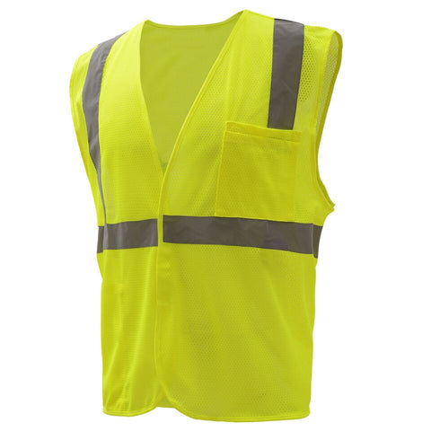 High Quality Class 2 Mesh Hook & Loop Vest