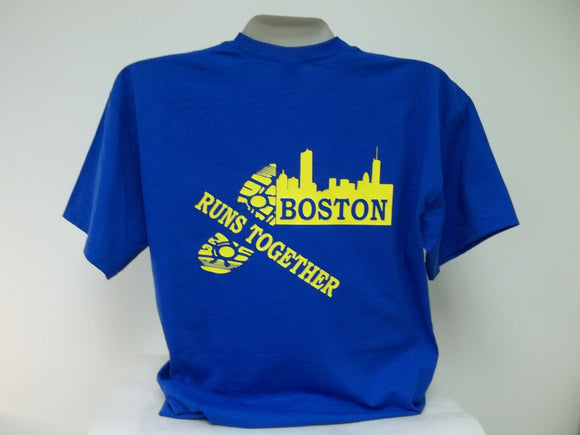 Boston Runs Together Marathon T-Shirt