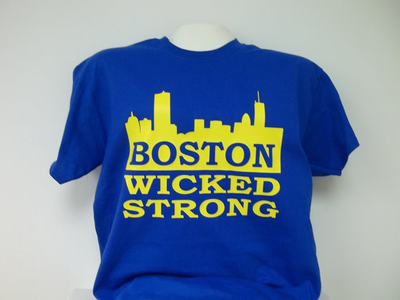Boston Wicked Strong Marathon T-Shirt