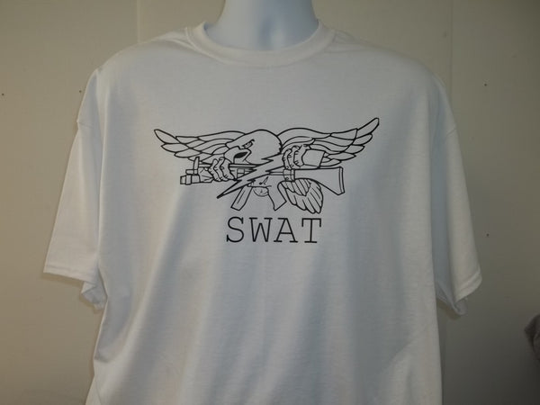 SWAT Crest Taking Down The Usual Suspects T-Shirt