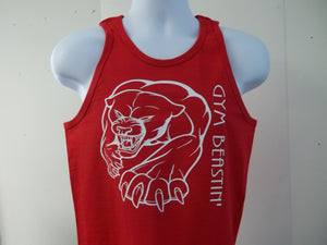 Gym Beastin' Panther Workout Tank Top