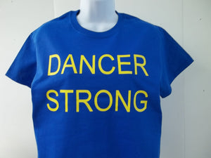Dancer Strong Boston Strong Marathon Style T-Shirt