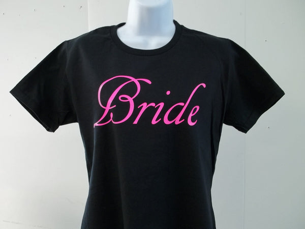 Bride Brides Wedding Bachelorette Wedding Party T-Shirt Free Shipping in USA