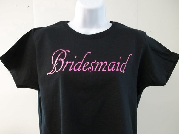 Bridesmaid Wedding Bachelorette Bride Wedding Party T-Shirt Free Shipping in USA
