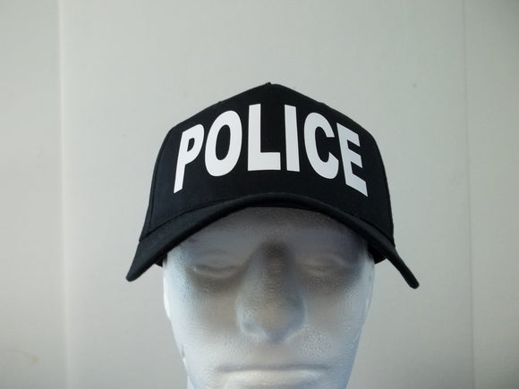 POLICE 5-Panel Baseball Hat Cap Choose Your Colors and Free Shipping in USA