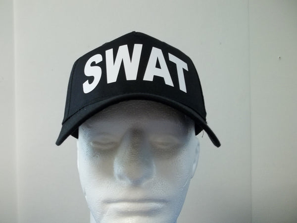 SWAT 5-Panel Baseball Hat Cap Choose Your Colors and Free Shipping in USA