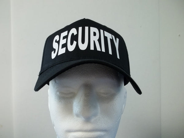 SECURITY 5-Panel Baseball Hat Cap Choose Your Colors and Free Shipping in USA