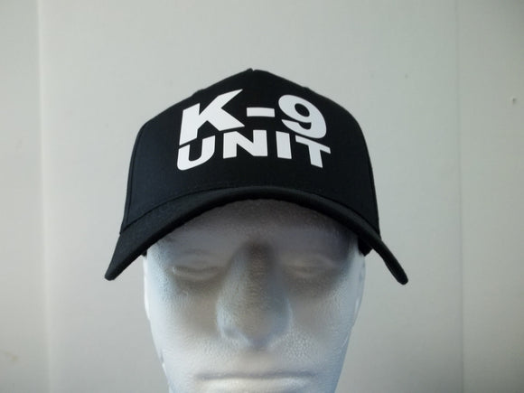K-9 UNIT STACK 5-Panel Baseball Hat Cap Choose Your Colors and Free Shipping in USA
