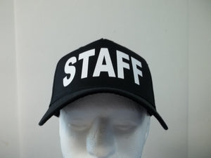 STAFF 5-Panel Baseball Hat Cap Choose Your Colors and Free Shipping in USA
