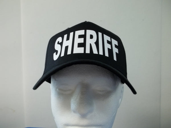 SHERIFF 5-Panel Baseball Hat Cap Choose Your Colors and Free Shipping in USA