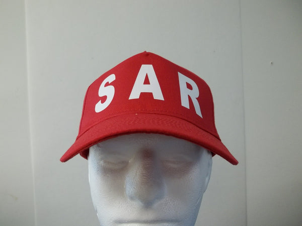 SAR Search and Rescue 5-Panel Baseball Hat Cap Choose Your Colors and Free Shipping in USA