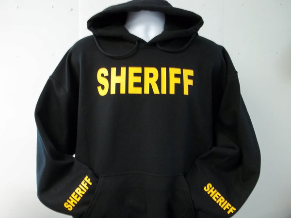 Sheriff or Police Hooded Hoodie Sweatshirt