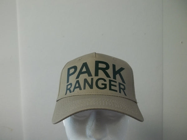 PARK RANGER 5-Panel Baseball Hat Cap Choose Your Colors and Free Shipping in USA