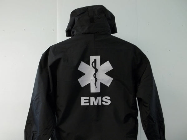 Reflective 3 in 1 EMT, EMS, MEDIC, MEDFLIGHT, SEARCH, STAR OF LIFE JACKET