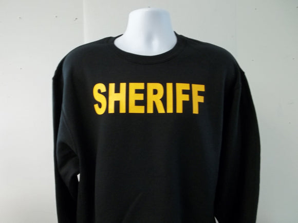Sheriff Crew Neck Sweatshirt & SweatPants Combo Deal