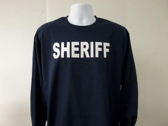 Law Enforcement Long Sleeve T-Shirt Choose Your Prints and Colors