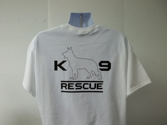 K-9 K9 Dog Search and Rescue Animal T-Shirt