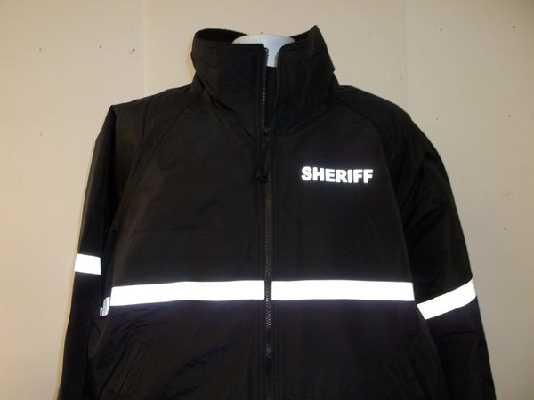 3m Reflective Police Or Sheriff Jacket With Reflective