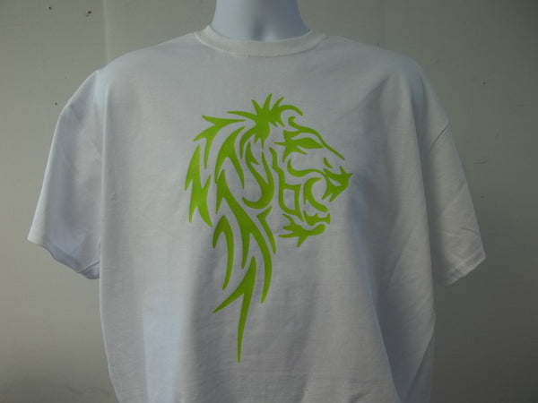 Lion Body Tribal Logo T-Shirt