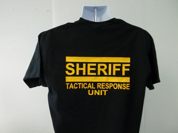 Sheriff Tactical Response Unit T-Shirt
