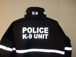 Reflective Police K-9 Unit Jacket
