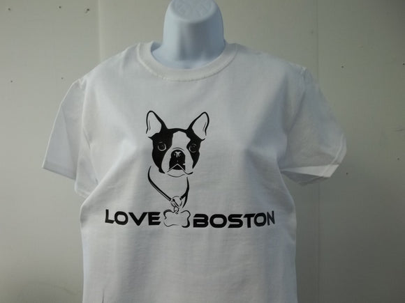 Love Boston Terrier T-Shirt