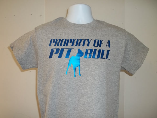 Property of a Pitbull Owner Dog T-Shirt