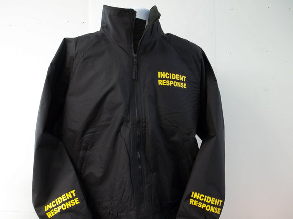 Lightweight First Responder Jacket Your Choice of two lines of print