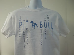 Describing Qualities and Personality of a Pitbull T-Shirt
