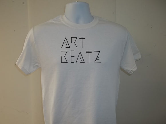 Two lined Art Beats Short Sleeve T-Shirt