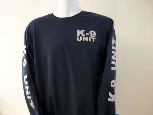 K-9 Unit Reflective Long Sleeve T-Shirt