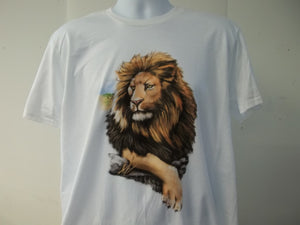 King Lion Full Front Short Sleeve T-Shirt WL60006