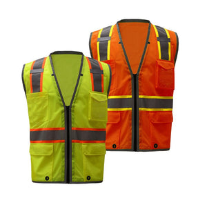 High Quality Class 2 Brilliant Heavy Duty Vest