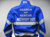 Reflective Search and Rescue Recovery Dog All Weather Jacket