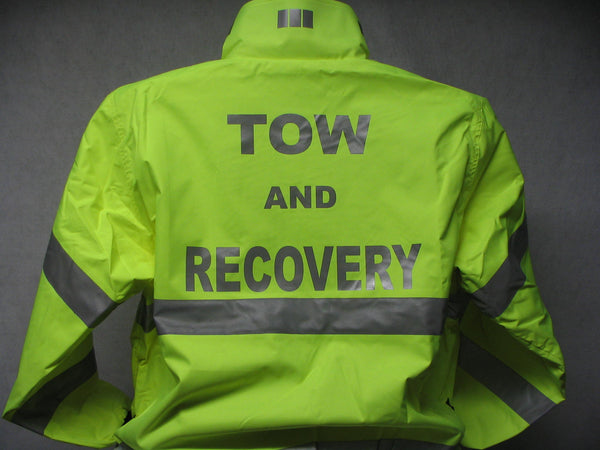Reflective Tow and Recovery All Weather Jacket