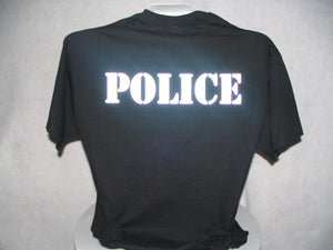 Reflective Police T-Shirt