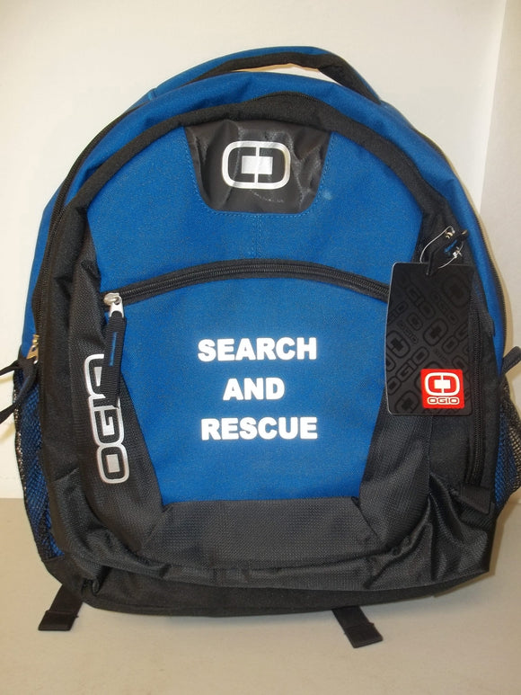 Custom 3M Reflective Printed Search And Rescue SAR EMT EMS PARAMEDIC Bag Back Pack