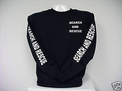 Search and Rescue Long Sleeve T-Shirt